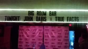 big room bar marquee