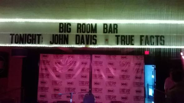 big room bar marquee